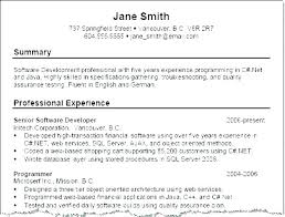 Professional Summary Resume Example Resume Letter Collection