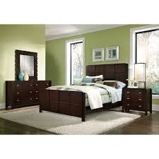 mosaic bedroom furniture. Mosaic 6 Piece Queen Bedroom Set Dark Brown American Signature Furniture King Sets O