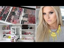 makeup collection storage shaaanxo 2016 one of the best makeup collections ever