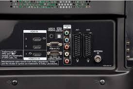 panasonic plasma tv back. design \u0026 connections panasonic plasma tv back 3