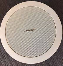 bose ds16f. bose feespace ds 16f loudspeaker white. used - no box. hardware included ds16f 6