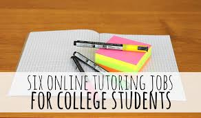 online tutoring jobs for college students the college investor