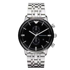 emporio armani mens chronograph watch ar0389