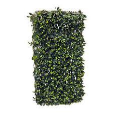 Greensmart Decor - Greensmart Decor Expandable FauxLemon Leaf Lattice  Screen - Outdoor Wall Art