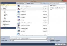 Create A New Mfc Project With A Chart In Visual Studio 2010