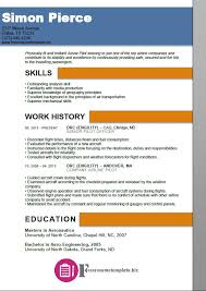 Sample Airline Pilot Resume Airline Pilot Resume Template ⋆ Free Resume Templates 36