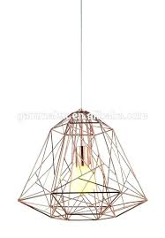wire cage pendant lighting wire cage lamp shade new design diamond wire cage pendant light shades