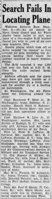 Search Fails in Locating Plane- Paul E Mauzy - Newspapers.com