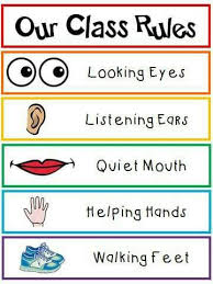Preschool Class Rules Chart Pin By Om Ahmed On Classroom Rules Class Rules Poster