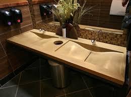 sushi zushi concrete countertop concrete vanity concrete bathroom counter