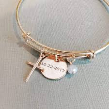 amazon confirmation gifts rose gold confirmation bracelet rose gold bangle handmade