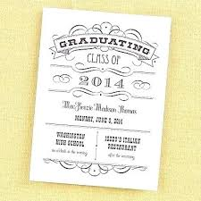 Formal Graduation Announcements Formal Graduation Invitations Feat High School Announcements As Well