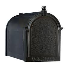 whitehall products mailbox. Whitehall Products Streetside Mailbox In Black And
