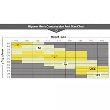 Drskin Compression Size Chart Rigorer Mens Compression Baselayer 3 4 Leggings Mudder