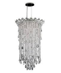 schonbek tr trilliane strands inch wide light chandelier