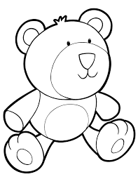 Small Picture Teddy Bear Colouring Pages Coloring Home