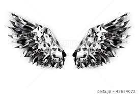 Black Mirror Wingsのイラスト素材 45654072 Pixta