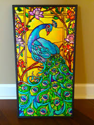 when glass and paints are combined they create amazing works of art i learned glass painting on my own as it s becoming popular especially with those who