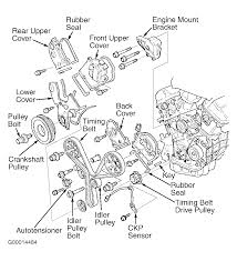 2003 acura 3 2tl serpentine belt routing and timing belt diagrams serpentine and timing belt diagrams