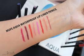 review mufe aqua waterproof lip liner pencil 1 2g top 5 mufe aqua