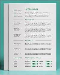 Keynote Resume Template