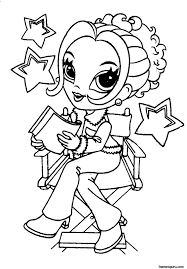 Small Picture Cute Girl Coloring Pages Coloring Coloring Pages
