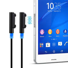 sony xperia z4 ultra. 1m (2-pack) sony xperia magnetic adapter to usb led charging cable z4 ultra
