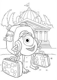 Small Picture Monsters University Coloring Pages GetColoringPagescom