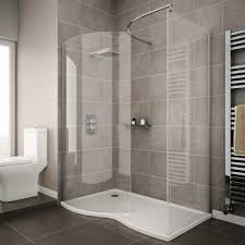 Curved Shower Enclosures Uk Ventura Walk In Throughout Design Decorating