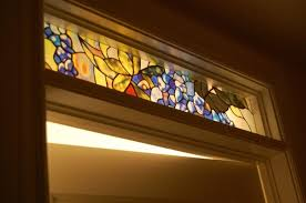 decorative stained glass designs for door