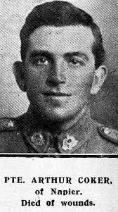Arthur Coker - Online Cenotaph - Auckland War Memorial Museum
