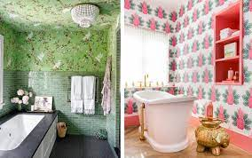 Best Bathroom Wallpaper Ideas - 22 ...