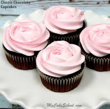 chocolate cupcakes with pink icing recipe. Brilliant Recipe Delicious Classic Chocolate Cupcakes From Scratch So Moist And Wonderful  Chocolate Flavor My Cake And With Pink Icing Recipe E