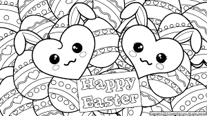 Easter Bunny Printable Coloring Pages Dapmalaysiainfo