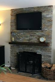 stone tile fireplace surround best stacked stone fireplaces ideas on stacked stone veneer fireplace surround