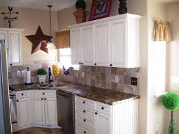 rustic white kitchens. Good White Kitchen Cabinets With Granite Countertops Rustic Kitchens