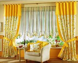 Kitchen Curtains Yellow Contemporary Kitchen Curtains For Modern Style Room