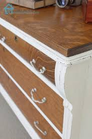 two tone furniture painting. The Ultimate Inspiration Guide For Painted Furniture Makeovers Two Tone Painting O