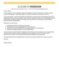 Free Cover Letter Template Administrative Assistant Lezincdc Com