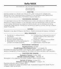 Personal Nursing Resume Examples New Grad Visit To Reads