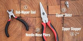 replacing a zipper slider