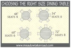 54 inch round table seats how many inspiring kitchen idea from round dining table size for