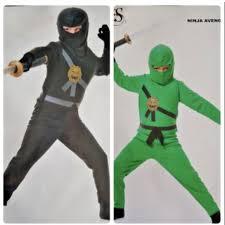 Charades Costume Size Chart Clearance Avengers Ninja Halloween Costume Nwt