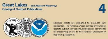 Great Lakes Noaa Nautical Charts Includes Lake Superior