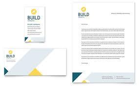 Construction Company Letterhead Template Adorable Construction Letterheads Templates Design Examples