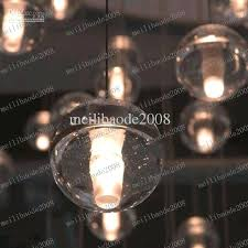 bocci pendant 1 lights crystal glass bocci 147 seven pendant chandelier bocci pendant