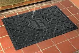 water hog mat monogrammed door mats waterhog mat ll bean