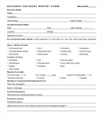 Fax Form Template Free Gorgeous Company Vehicle Accident Report Form Template Best Incident Free
