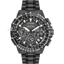 "citizen watches men s ladies eco drive watch shop comâ""¢ mens citizen promaster navihawk gps alarm chronograph radio controlled eco drive watch cc9025 85e"