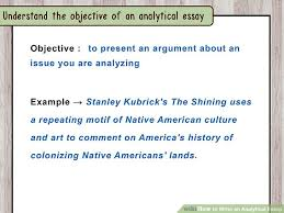 how to write an analytical essay steps pictures image titled write an analytical essay step 1
